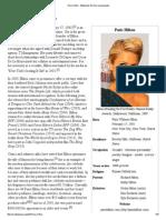 Paris Hilton - Wikipedia, The Free Encyclopedia
