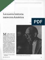 Germán Arciniegas La Nueva Historia Nace Con América