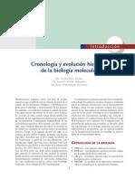 1.1.1. Beas. Cronologia y Evoluacion Historica de La Biologia Molecular