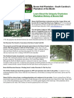 Boone Hall Plantation - South Carolina Plantation of the Month