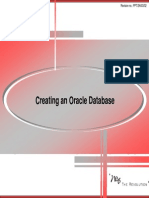09 Creating an Oracle Database