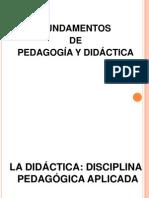 Didactica y Pedagogia