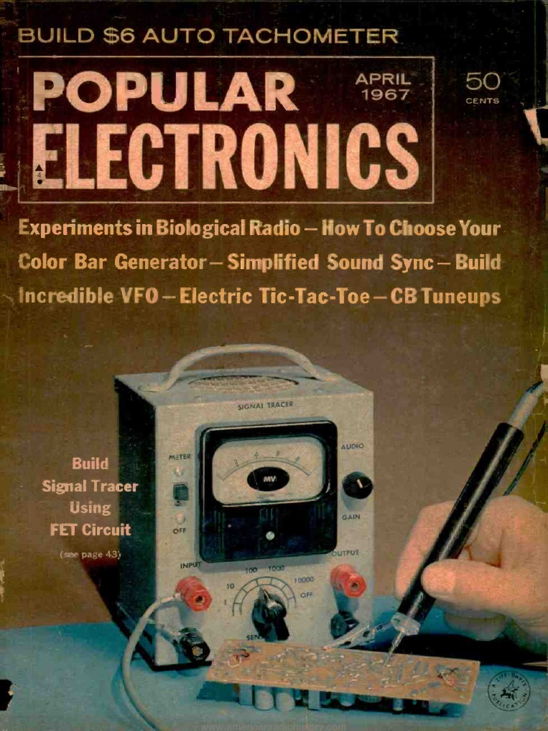 Pe 1967 04 Vacuum Tube Rectifier How To Build Xtal Tester