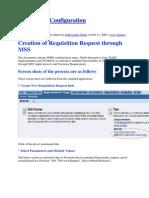 MSS E Rec Configuration