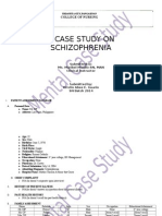 Case Study on Schizophrenia