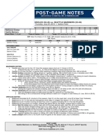 07.24.14 Post-Game Notes