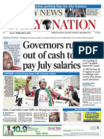 Daily Nation July 25th 2014