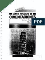 Curso Aplicado de Cimentaciones Colegio Arquitectos Madrid