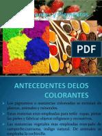 Los Colorantes y Pigmentos