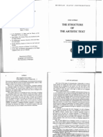 Lotman Structure Art Text