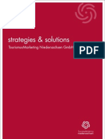 strategies & solutions - TourismusMarketing Niedersachsen GmbH