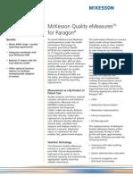 McKesson Quality EMeasures for Paragon