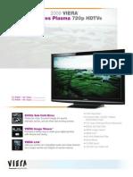 2009_VIERA_X1_PDP_SpecSheet.pdf