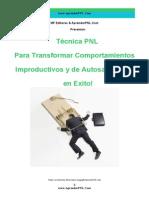 Técnica PNL Para Transformar Autosabotaje en Exito - AprenderPNL