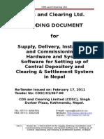 BID Document of CDS