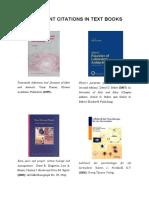 Citation in Books