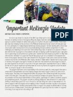 Important McKenzie Update -July 2014