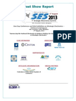 Post Show Report - SES 2013 10Sep13- FINAL