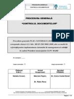 Procedura Generala 01