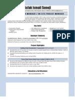 Resume- Civil Engineer