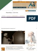 Dhyanalinga – a Live Guru