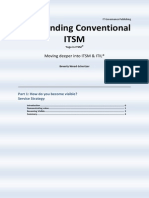 Transcending Conventional ITSM
