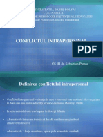 Curs 6. Conflictul Intrapersonal