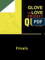 Cricket Quiz Finals