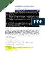 WebLogic Server Force Shutdown