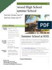 Ridgewood 2012 SummerSchool Brochure