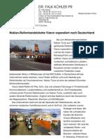 Nokian-Reifenhandelskette Vianor expandiert nach Deutschland