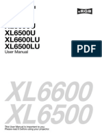 Xl6600u Lu Xl6500u Lu User Manual