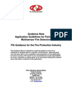 Application Guidelines for Point Type Multisensor Fire Detectors