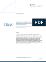 Transformation of Enterprise Product Management for Rapid Launch of Next Generation Products