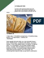 Domaći Mekani Italijanski Hleb