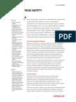 Oracle Argus Safety Data Sheet