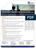 MFG SAP Implementation for a Leading Global Manufacturer of Construction Machinery and Equipment