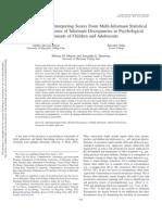 DELOS REYES Criterion Validity of Interpreting Scores