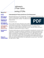 Understanding OTDRs