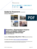 Call 2013 Cip Iee Promo p Guide for Proposers