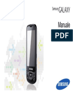 GT-I7500 manuale telefono