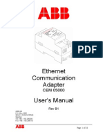 2CMT001015 B1 en Ethernet Communication Adapter CEM 05000 User s Manual
