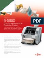 Fujitsu Fi 5950 Datasheet