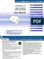 CANON DR-2010M User Manual