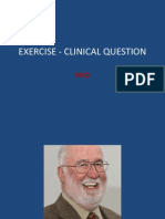 Exercise Clinical Question