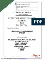 DM Manual Doshion