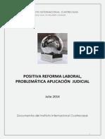 Documentos Instituto Cuatrecasas_positiva Reforma Laboral, Problemática Aplicación Judicial Julio_2014