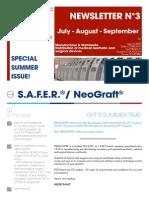 ENG - Newsletter N°3 July - August - September 2014