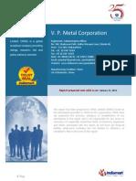 V.P.METAL CORPORATION Trustprofilereport.pdf