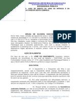 Ação Alimentos - PATRICIA ALVES.doc